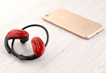 Беспроводные спортивные наушники F6, SD/Bluetooth 0. Поддержка SD карт