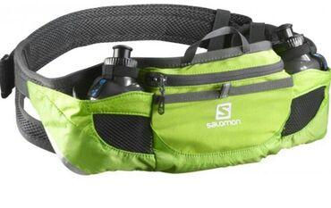 Спортивная поясная сумка с фляжками salomon xr energy belt