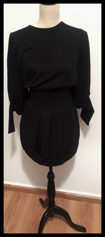Lak by Gavalas φορεμα κοντο μαυρο (small-medium) σε Xanthi