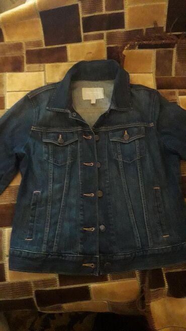 женская-новая-куртка в Азербайджан: Джинсовая куртка почти новая женская