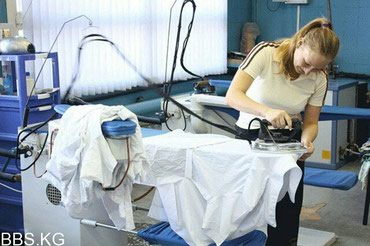 В швейный цех требуются утюжники на постоянную работу в Бишкек