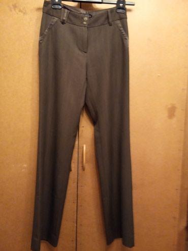 Женские брюки ,б/у,хорошее состояние,коричневые,размер 38-40 в Бишкек