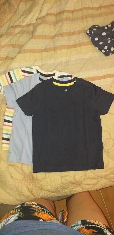 Aro 24 3 mt - Beograd: Nove majce za decake 86/92 od 12-24 mes 3 nove majce za 800 din