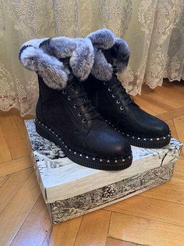 Продается новые зимние ботинки Турция! Натуральная кожа и внутри нату