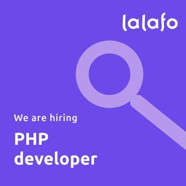 Мы в Lalafo ищем PHP Developer который будет заниматься разработкой