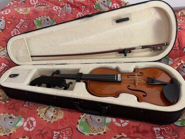 Aro 10 1 6 mt - Srbija: Violina 1/2 malo korišćena sa dva držača za rame