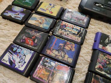 Видеоигры и приставки - Кыргызстан: Куплю старые ненужные кассеты от сеги! Может у кого валяются ненужные