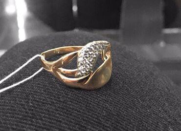 sergi iz zolota 375 proby в Кыргызстан: Золотое кольцо 20 размер Золото 375 пробы