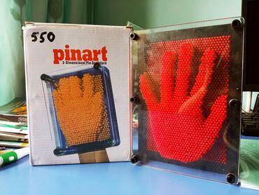 Продам 3d скульптуру (pinart) с одной стороны нажимаешь и с другой