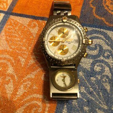 qizil-saatlar - Azərbaycan: Gümüşü Kişi Qol saatları Breitling
