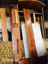 Продаю 1,5 и 2-х спальную кровать с матрасами 1) Производства 90-х в Бишкек