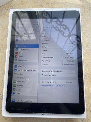 ipad 4 32gb cellular wifi в Кыргызстан: Продаю IPad Air 16gb WiFi+Sim в хорошем состоянии. Привозной из США. В