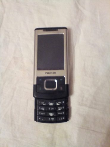 Bakı şəhərində Nokia 6500c-1 slayd.ZAPCAST kimi satilir.