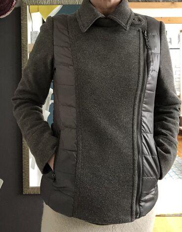 Nature zimska jakna - Srbija: Prodajem DEHA jaknu u kombinaciji vune i štepanog poliestera.  Nošena