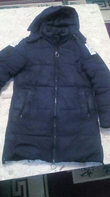 Мужская одежда - Кок-Ой: Продаётся куртка пуховик мужской 48-50 размер