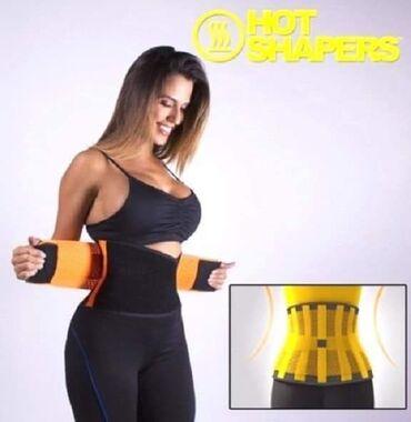 Hot Shapers pojas na čičak trakuDizajniran za pojacano znojenje, bez