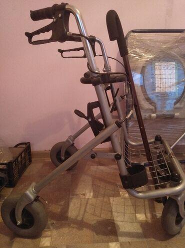 ходунок в Кыргызстан: Продаётся ходунок взрослый качество и состояние идеальное! С тормозом!