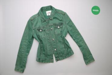 Жіноча джинсова куртка Mskvck, р. L   Довжина: 56 см Ширина плеча: 39