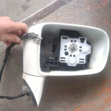 Автозапчасти в Каракол: Продаю правое боковое зеркало на Хонда Одиссей  Регулировка зеркал раб