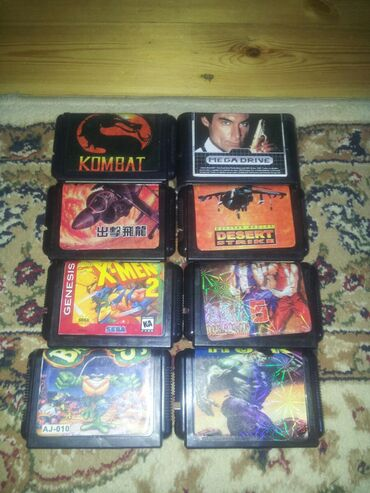 Sega kasetleri biri on manat