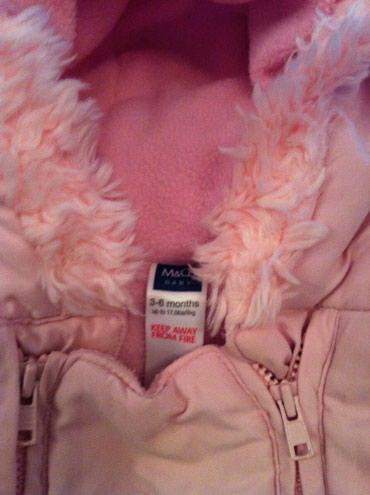 Astara şəhərində Шубка детская из Англии нежно розового цвета на атласной подкладке.