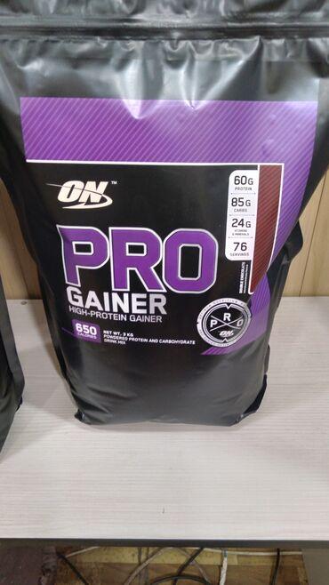 Гейнер с повышенным содержанием белка для набора мышечной массы. сша