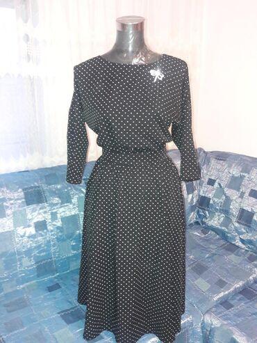 Личные вещи - Токмак: Легкое платьице с карманами, размер 44-46, длина ниже колен. Токмок