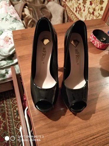 Очень красивые удобные туфли. Лаковая в Бишкек