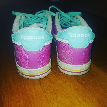 Ženska patike i atletske cipele   Borca: Reebok Pink plave patike, broj 38. Malo nosene
