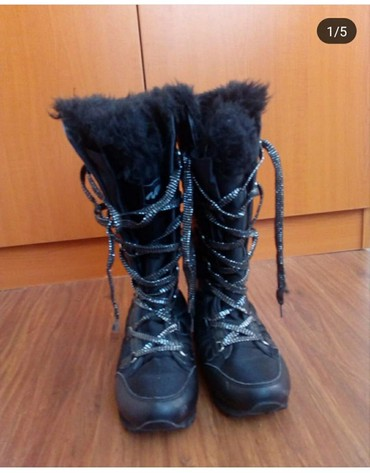 Zimske-cizmice-postaljene-krznom-br - Srbija: Zimske čizme br 36 izuzetno tople