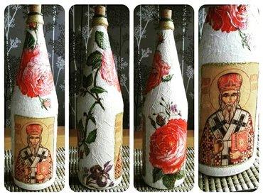 Flaše sa ikonom krsne slave po želji. Zapremine mogu biti od 0. 5l - Krusevac