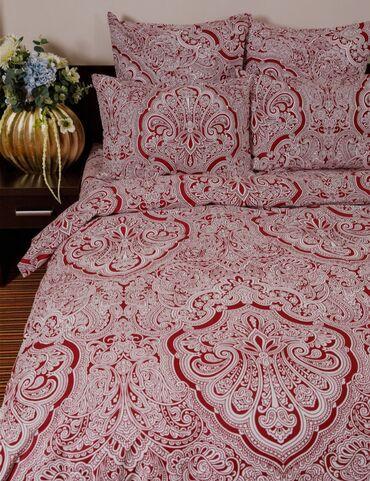 джемпер наволочка спицами в Кыргызстан: Двуспальный комплект постельного белья.  100% хлопок. Производство Рос