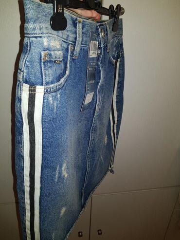 Φουστα - Ελλαδα: Ολοκαινουργια φουστα pepe jeans  μεγεθος: Μ