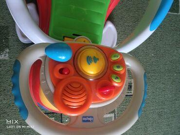 Детский мир - Аламедин (ГЭС-2): Толокар Чикко, подножки и боковины снимаются, музыкальная панель