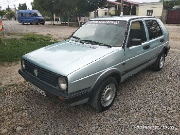 volkswagen-golf-бу в Кыргызстан: Volkswagen Golf 1.8 л. 1989 | 12345 км