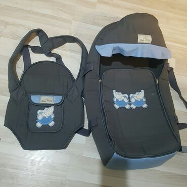 переноска для кошек бишкек in Кыргызстан | ЗООТОВАРЫ: Продаю люльку переноску, сумку для детских вещей,кенгуру в хорошем
