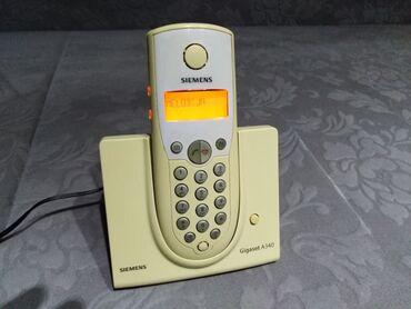 Siemens s25 - Srbija: Prelep Siemens bezicni fiksni telefon. Poptuno ispravan sa svojom