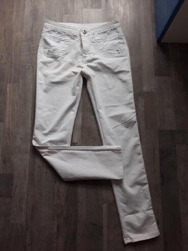 Pantalone bele clockhouse - Srbija: Bele pantalone br.29. Skoro nove