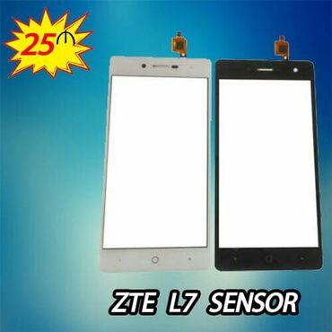 ZTE L7 sensor bərpası 25 AZN.Məhsullarımız tam keyfiyyətli və