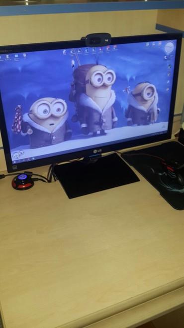 Monitorlar - Azərbaycan: Lg Flatron E2360. 27inç Monitor Aldığımdan Dolayı Satıram . Tam