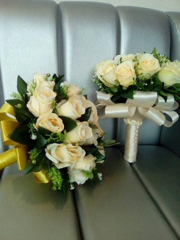 свадебный букет в Кыргызстан: Большой выбор букетов для невест, браслеты и бутоньерки, фаты а также