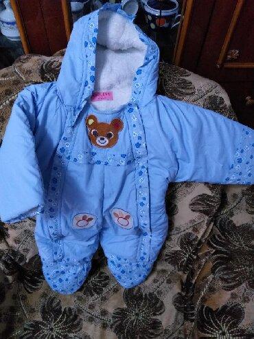 детские вещи комбинезоны в Кыргызстан: Комбинезон детский. Одевали пару раз. Есть уступка!!!