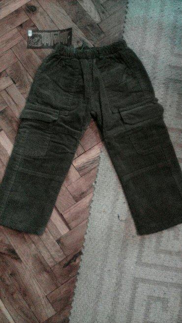 Za decu | Pancevo: Nove! Mekane somotske termo pantalone. Vel. 4