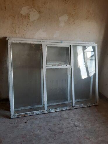 Продаётся оконные рамы б/у со стёклами в хорошем состоянии 3 штуки