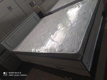 Новые кровати с выдвижными ящиками для белья. 10 000 сом доставка по