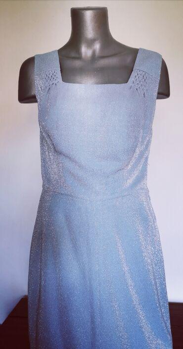 Haljine - Ruski Krstur: Divna skoro nova haljina jednom obucena za svadbu, Obim grudi