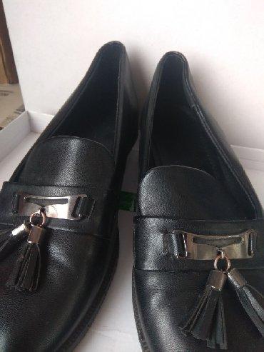 Оксфорды в Кыргызстан: Продаю черные классические люферы, размер 39.Отличного качества