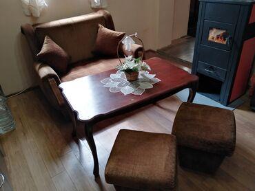 Nameštaj - Bogatic: Na prodaju fotelja na razvlacenje,ima kutiju za posteljinu,uz njega