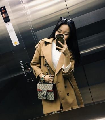 Женская одежда в Нарын: Пальто размер xs s - брала в Azel за 4500 отдам за 2000 (без ремня )(с