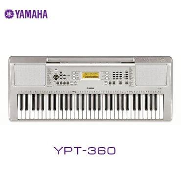 Синтезатор yamaha ypt-360описание товарапортативный синтезатор с